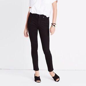 EUC Madewell black jeans